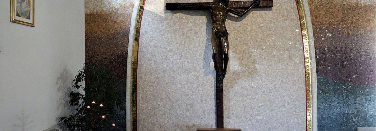Mosaico Crocifisso